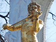 Visit Johann Strauss in the Stadtpark