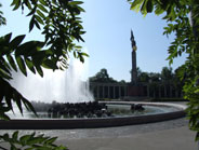 The 'Schwarzenbergplatz' is a beautyful Vienese square