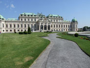Another view of the Belvedere - today it houses an excellent museum